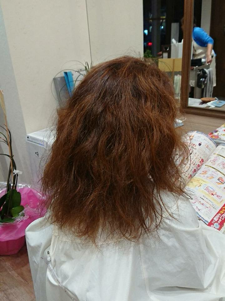 ユーリカリチェルコの髪質改善策 その1